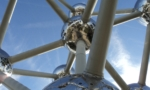 Air Atomium sculpture Brussels