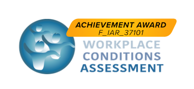 Achievement Award - Workplace Conditions Assessment Custom Pharma Careers Progression